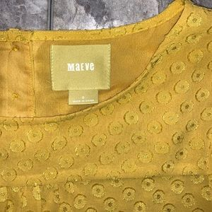 Maeve Tops - Maeve Yellow Top